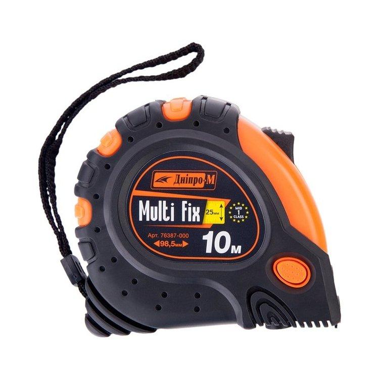 Плиткорез электрический Дніпро-М ПЕ-180Н + Рулетка MultiFix 10м фото №3