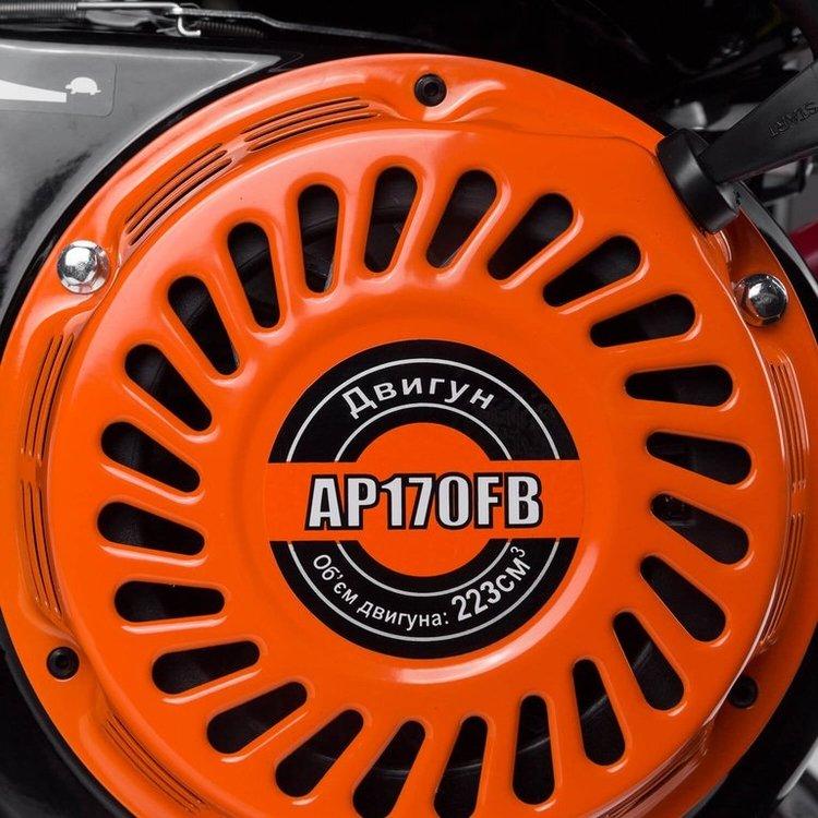 Мотопомпа бензиновая Дніпро-М МП-280 + Шланг водонапорный 80мм-100м ПВХ фото №6