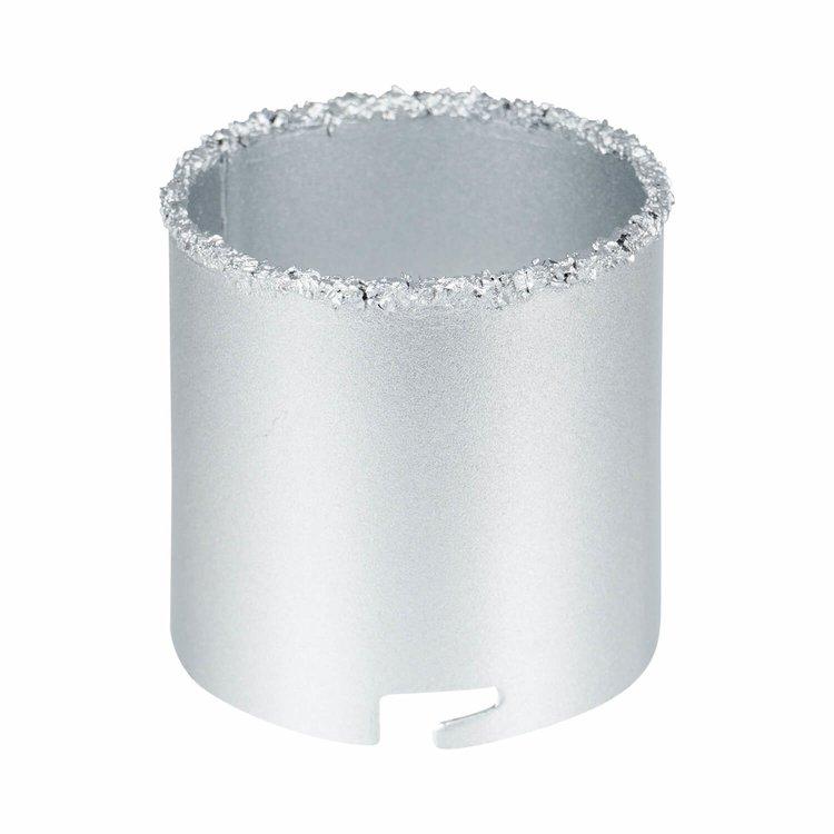 Набор вольфрамовых коронок Дніпро-М (4 шт.) (33,43,53,67 мм) фото №4