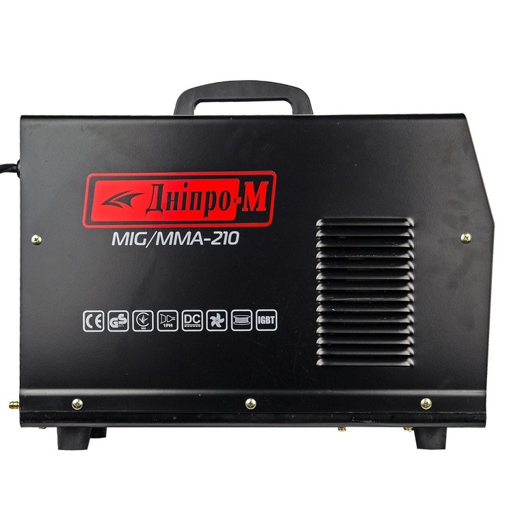 Полуавтомат инверторный IGBT MIG/MMA Дніпро-М 210 (2in1, IGBT) фото №4