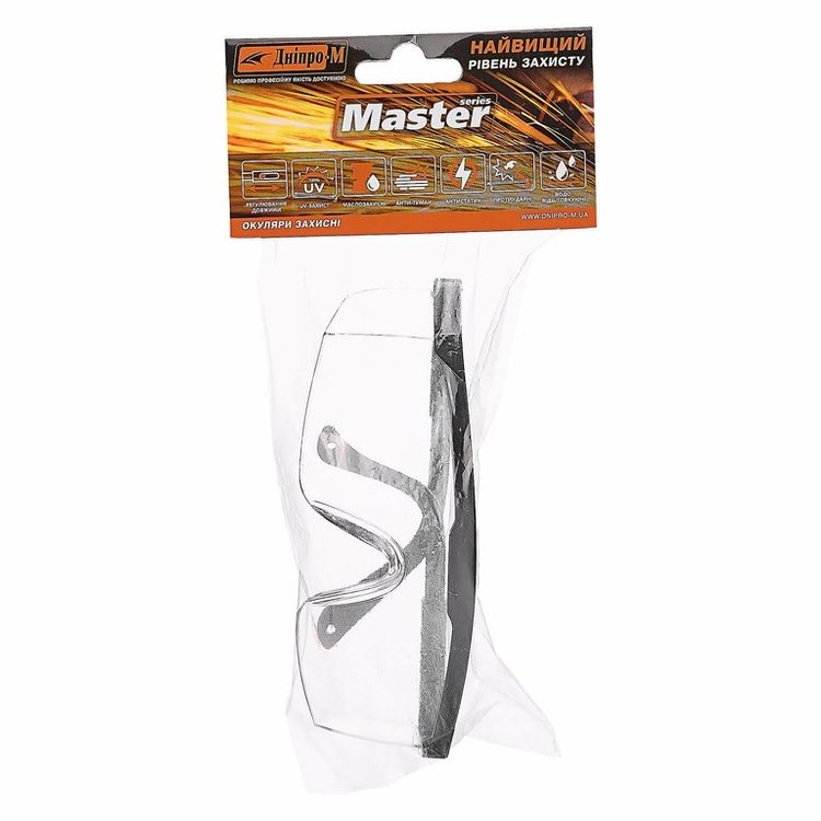 Перчатки Ultra XL + очки защитные Дніпро-М Master фото №5