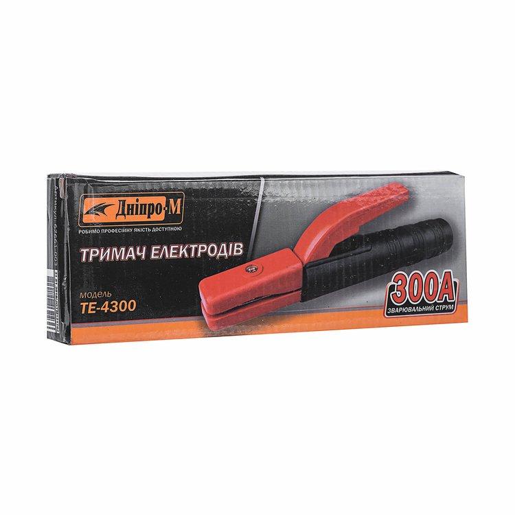 Держатель электродов для сварки Дніпро-М ТЕ-4300 фото №3