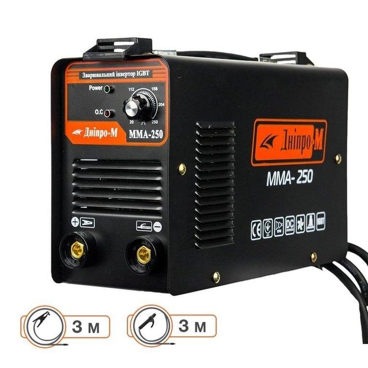 Сварочный аппарат IGBT Дніпро-М ММА 250 B + Подарки фото №2