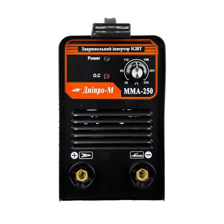 Сварочный аппарат IGBT Дніпро-М ММА 250 + подарки фото №8