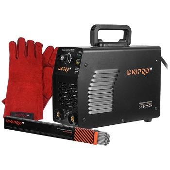 Сварочный аппарат IGBT Dnipro-M SAB-260N + Перчатки + Электроды