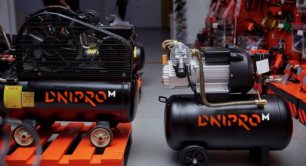 Прямой и ременной компрессор