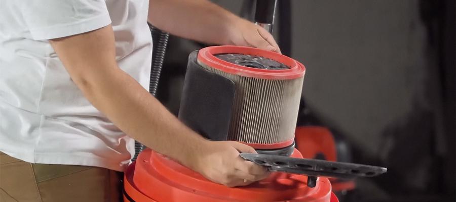 Выбор строительного пылесоса и пылесборника