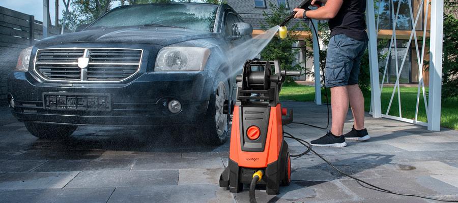 Мийка машини своїми руками мийкою високого тиску