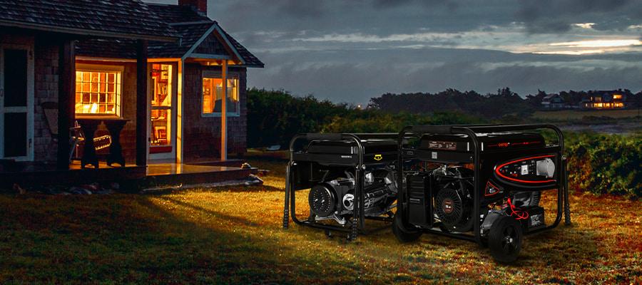 Бензиновый генератор для дома и дачи