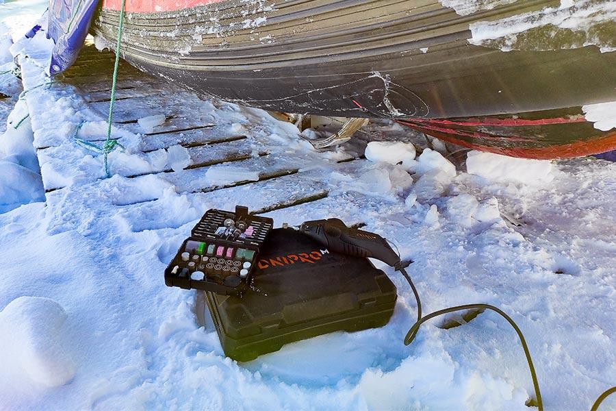 Як український полярник врятував дослідницький човен - Фото 5