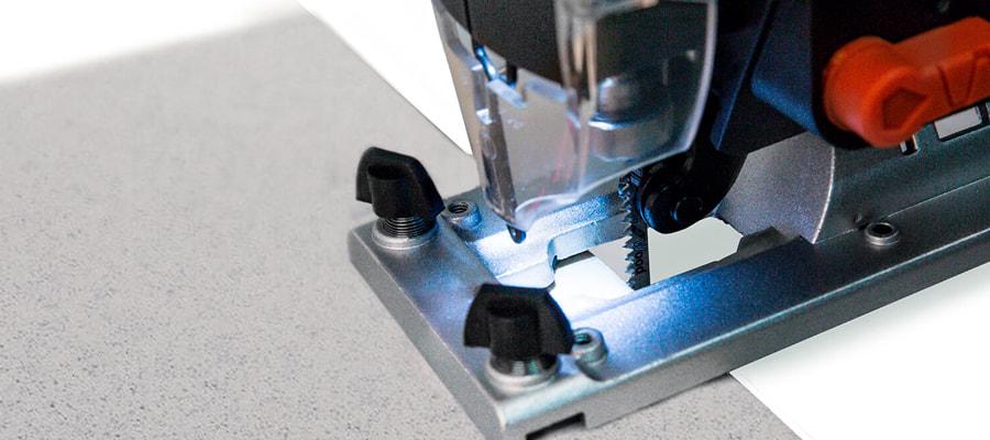 Як різати плитку лобзиком