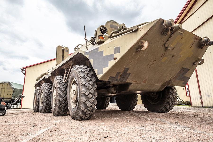 Модернизированный БТР-70Т