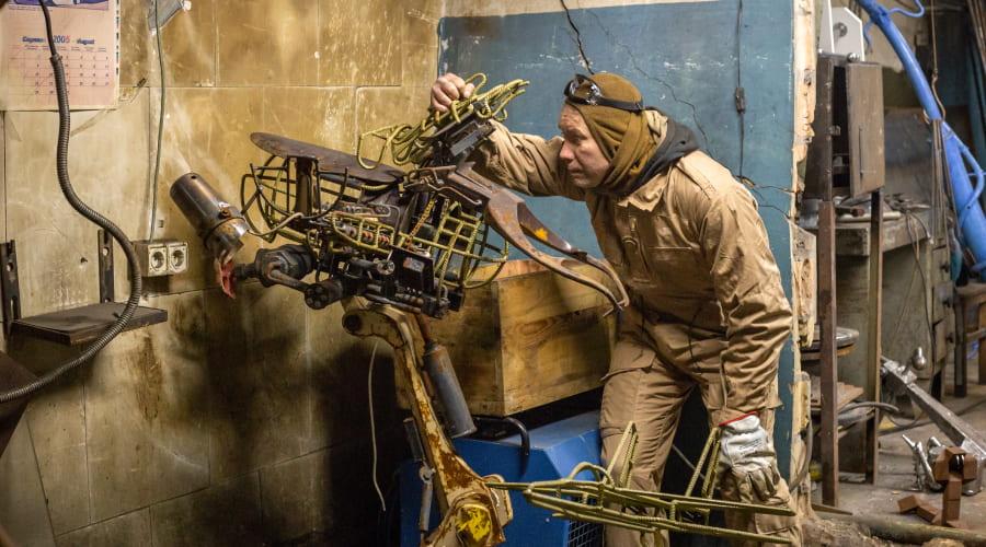 Как создают фантастические скульптуры с Dnipro-M