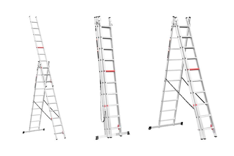 Як вибрати розкладну драбину