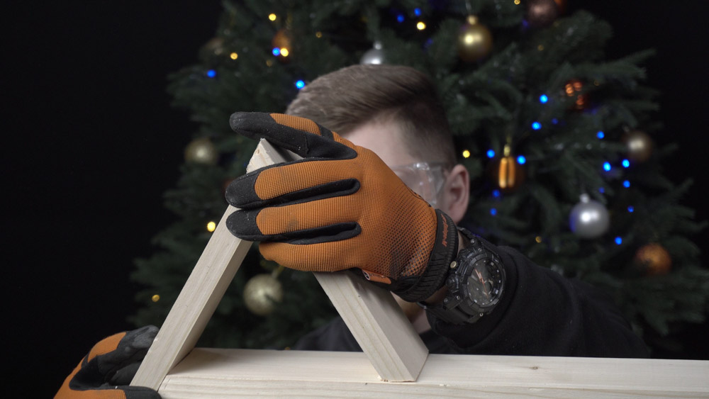 Фото-инструкция по изготовлению новогодней елки своими руками - Шаг 5