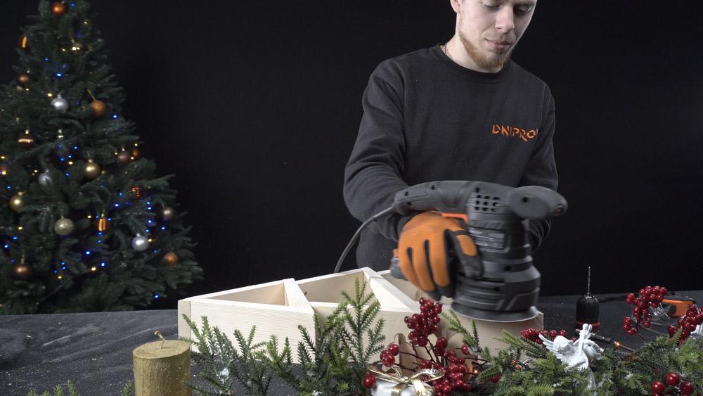 Фото-инструкция по изготовлению новогодней елки своими руками - Шаг 9