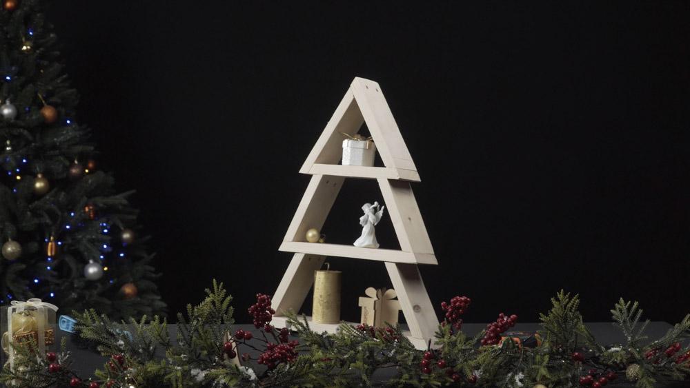 Фото-инструкция по изготовлению новогодней елки своими руками - Шаг 11