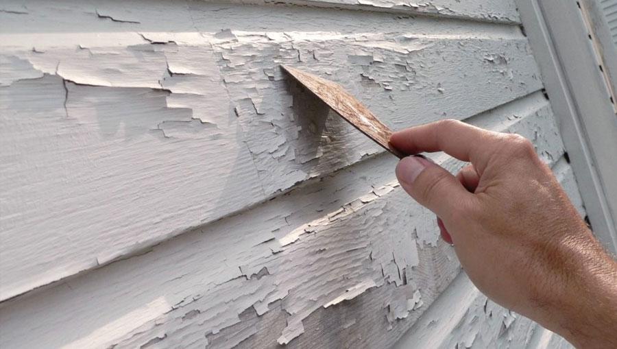 Удаление старой краски с дерева