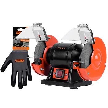 Станок точильный Dnipro-M BG-12 + Перчатки Ultra Grip