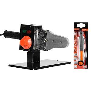 Паяльник для пластикових труб Dnipro-M PW-85 + Ніж сегментний Ultra 9 мм