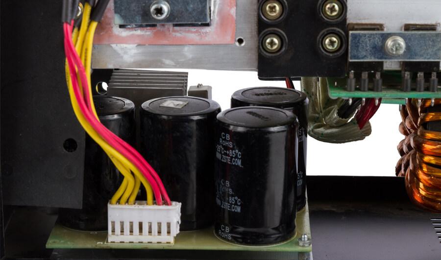 Внутреннее строение инверторного инструмента Dnipro-M