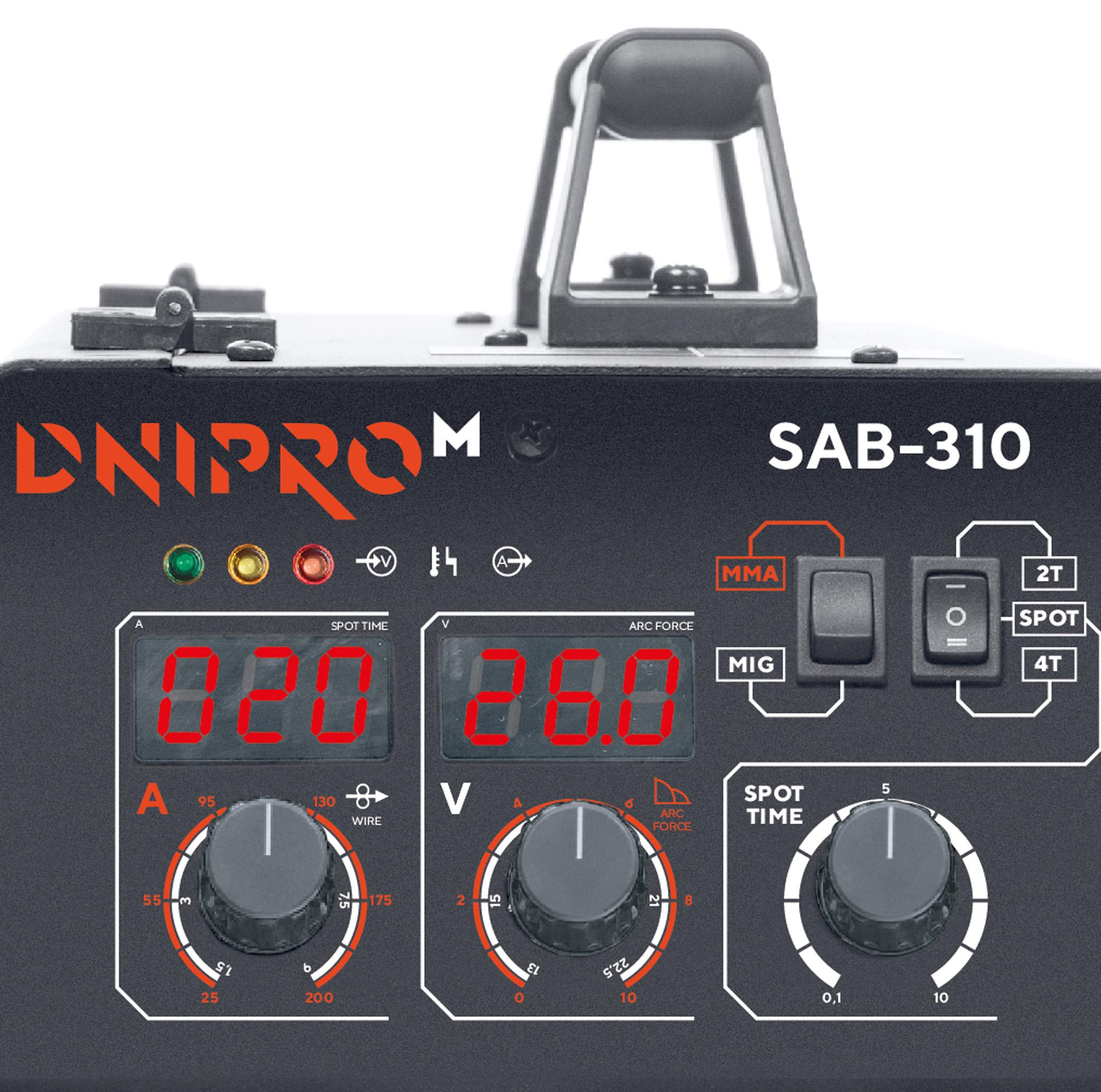 Передняя панель SAB-310